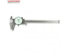 Thước cặp cơ khí đồng hồ Insize, 0-150mm, 1312-150A