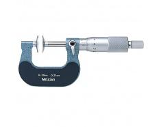 Thước Panme cơ đo ngoài đầu đĩa 0~25mm 123-101 Mitutoyo