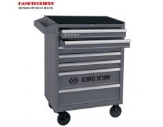 Tủ đồ nghề 7 ngăn 327 chi tiết Kingtony 934-019MRV-G