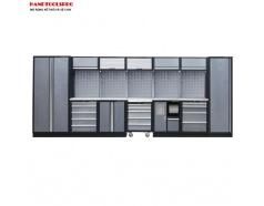 Tủ đồ nghề cơ khí 4885 x 460 x 2000mm Kingtony 87D11X01SA-KG