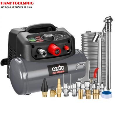1200W Máy nén khí không dầu di động 6 lít Ozito MACP-015