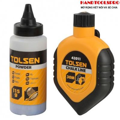 Cuộn dây phấn 30m Tolsen 42011 (Vàng)