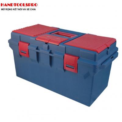 Thùng đồ nghề nhựa 560 x 278 x 270mm Kingtony 87404